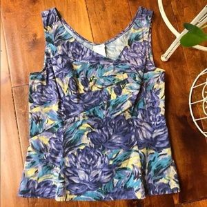 Anthro (Odille) Floral Top
